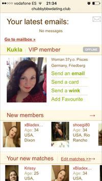 Chubby BBW Dating screenshot 1