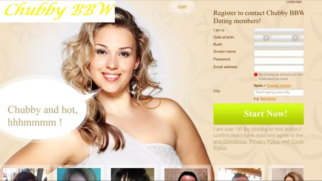 Chubby BBW Dating screenshot 6
