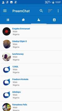PreemChat screenshot 2