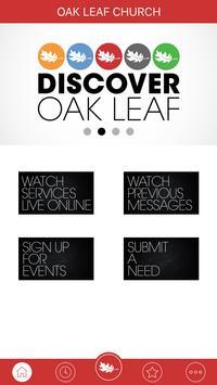 Oak Leaf Church v2 poster