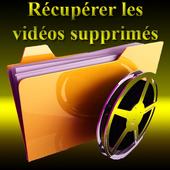 Récupérer les vidéos supprimés icon