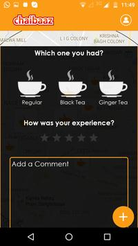 Chaibaaz - Your Tea Finder screenshot 1