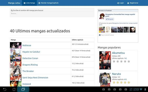 MangaReborn - Manga en español apk screenshot