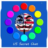 US Secret Chat icon