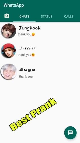 Chat Bts Kpop Prank For Android Apk Download