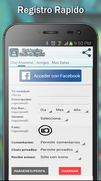 Chat Anónimo Gratis Español poster