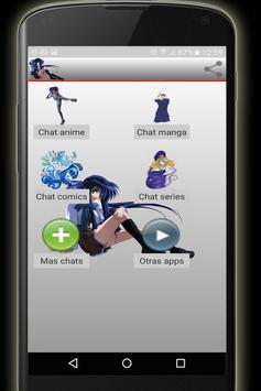 Chat anime y manga gratis screenshot 1
