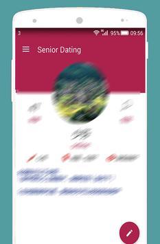 Seniors Dating Elderly Chat poster