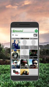 Chat América apk screenshot