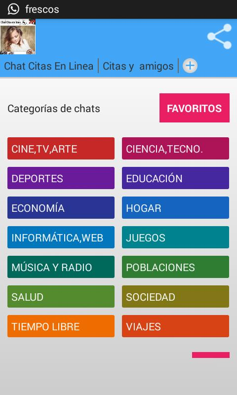 da6d8b832fbac Chat Citas on Line for Android - APK Download