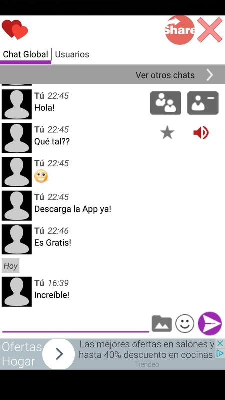 aa0732f279492 Chat de Citas Anónimo for Android - APK Download