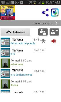 Chat Lesbianas Colombia Citas screenshot 4