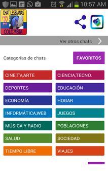 Chat Lesbianas Colombia Citas screenshot 1