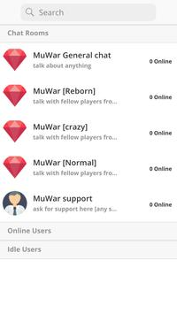 MuWar Chat poster