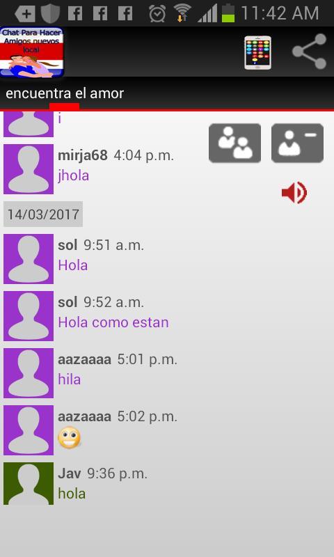 d8948cbd9a1b4 Chat Para Hacer Amigos Nuevos pour Android - Téléchargez l APK