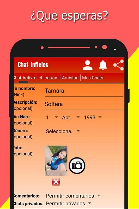 249cab50763b7 Chat para infieles citas amantes   solteros gratis for Android - APK ...