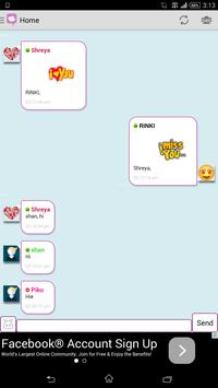 Live Chat Rooms - Chat786 apk screenshot