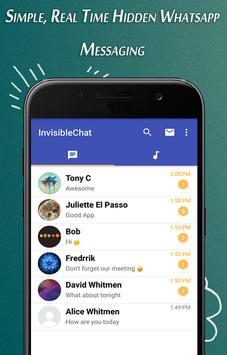 Invisible Chat screenshot 1