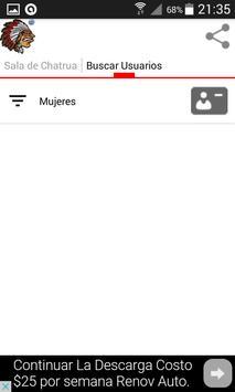 Chatrua Rivera Chat Uruguayo apk screenshot