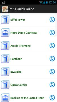 Paris quick guide screenshot 4