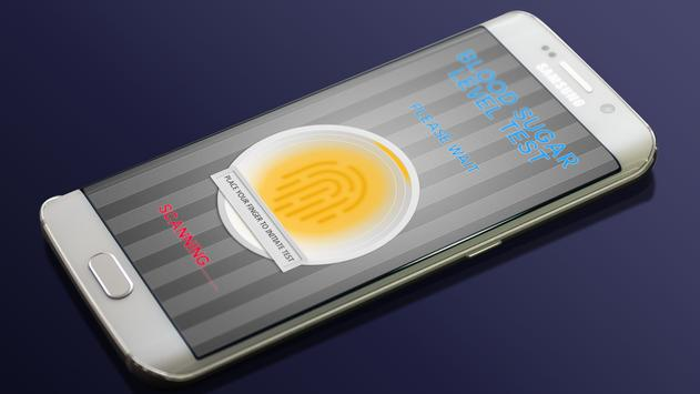Fingerprint Blood Sugar SPO2 Test Checker Prank 💉 apk screenshot