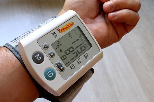 قياس ضغط الدم ببصمة الاصبع prank2017 poster