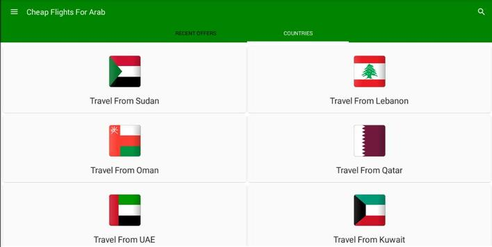 Cheap Flights For Arab apk screenshot