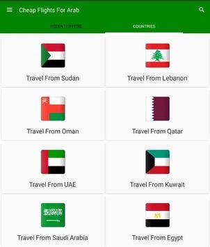 Cheap Flights For Arab poster
