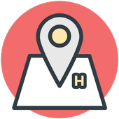 Hotels Search icon