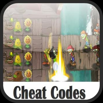 Cheat Code Plants vs Zombies 2 poster