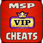 Cheat For MSP VIP icon