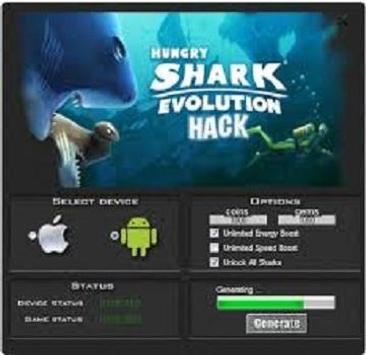 hungry shark evolution hack apk file