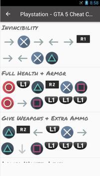🎮🥇 Cheats Codes For GTA apk screenshot