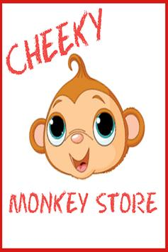 Cheeky Monkey Store - Swing By poster