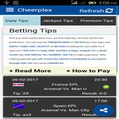 Betting Tips - Cheerplex icon