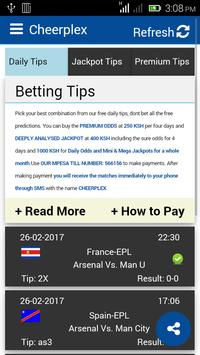 Betting Tips - Cheerplex poster