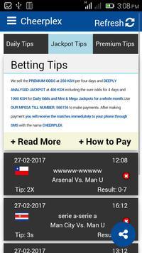 Betting Tips - Cheerplex apk screenshot