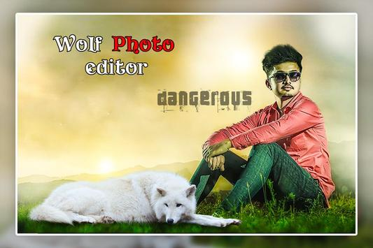 Wolf Photo Editor poster