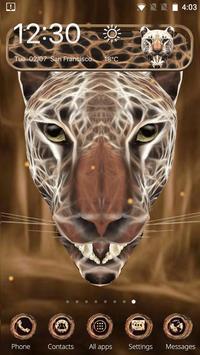 3D Neon Cheetah Theme screenshot 5
