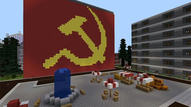 Chernobyl Map for Minecraft apk screenshot