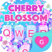 Cherry Blossom Keyboard Theme for Girls icon