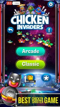 Chicken Shooter Invaders poster