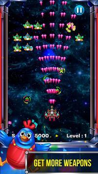 Chicken Shooter Invaders apk screenshot