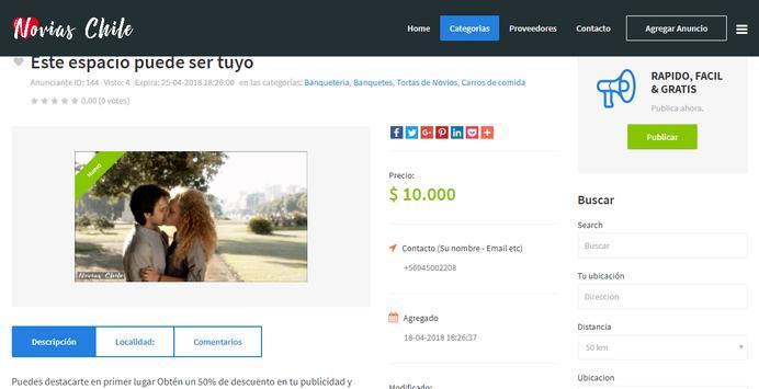 Chile Novias screenshot 3