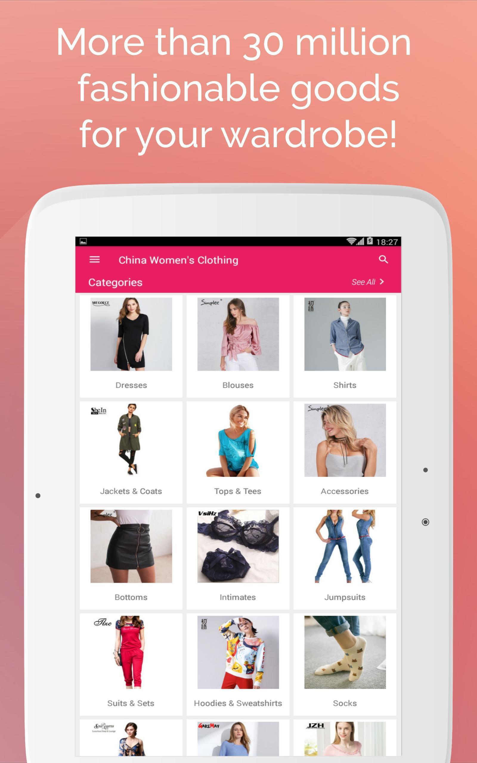 c5384a3d6b2b Дешевая одежда из Китая с бесплатной доставкой для Андроид - скачать APK