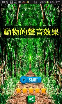 Chinese Animals Soundeffect poster