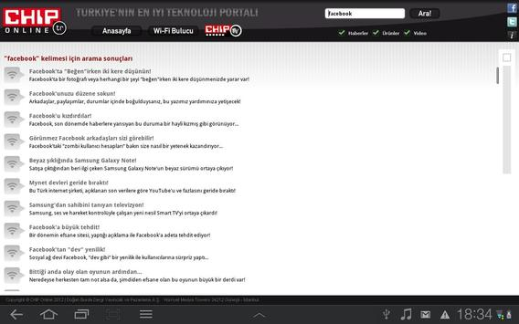 CHIP Online Tablet apk screenshot