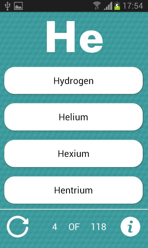 Periodic table quiz apk download free education app for android periodic table quiz poster periodic table quiz apk screenshot urtaz Gallery