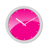 Pink Analog Clock for Android - APK Download