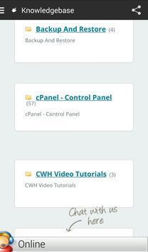 Christian Web Hoster apk screenshot
